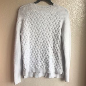 Devotion by Cyrus Chevron Knit Super Soft Sweater